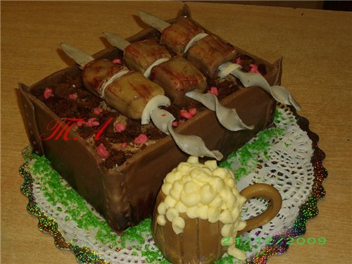 торт из шашлыка фото